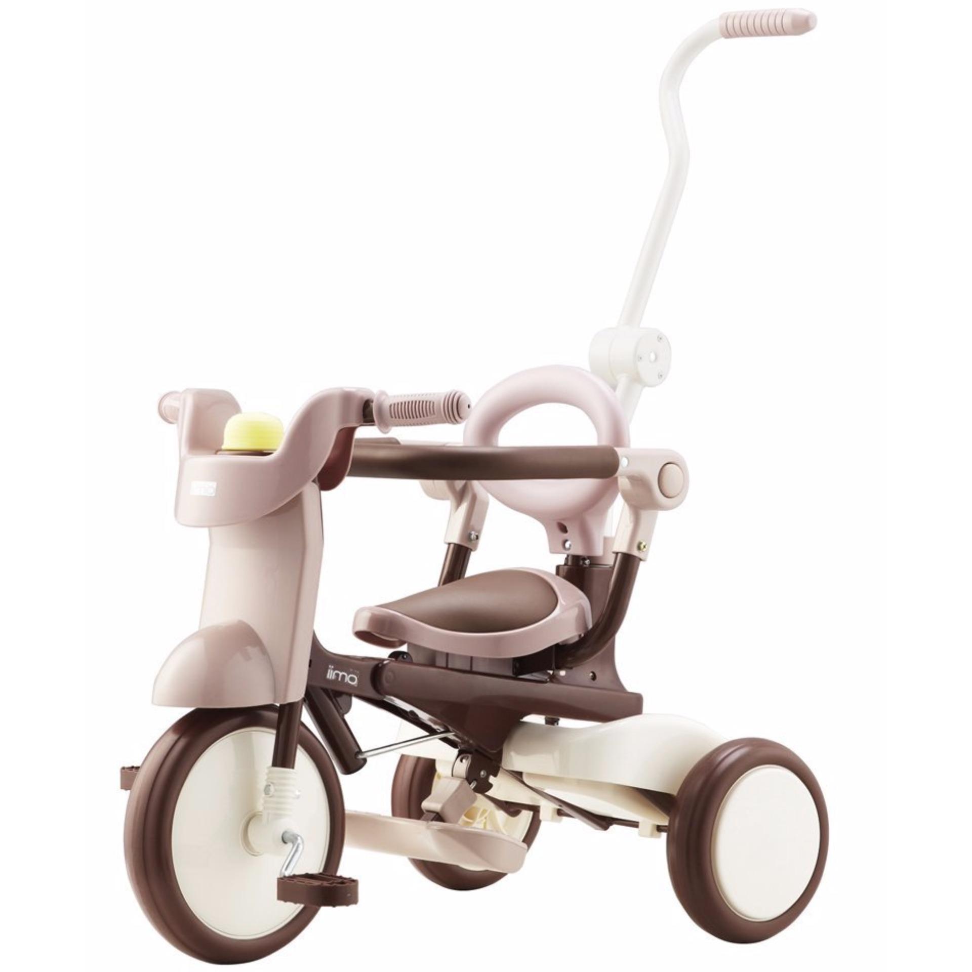 iimo 3-in-1 Foldable Tricycle #2 - Comfort Brown | Lazada Singapore