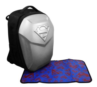 Harga Justice League Superman Bag XL (Silver)