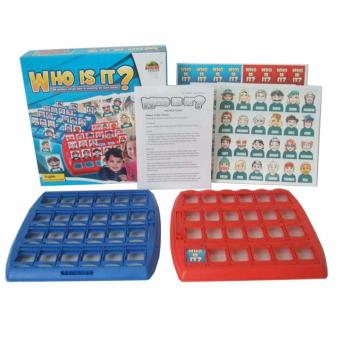 Harga XTV WHO IS IT? Fun Family Kids Party Board Game Logic Reasoning Children Best Gift