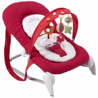 Harga Chicco Hoopla Baby Bouncer (Red Wave)