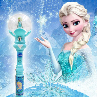 Harga Light Up Toys Kids Elsa LED Magic Wand Music Singing Let It Go Ice Snow Queen Glow Led Toys Juguetes Con Luces Led Light Sticks - intl