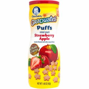 Harga GERBER Graduates Puffs Strawberry Apple 42g