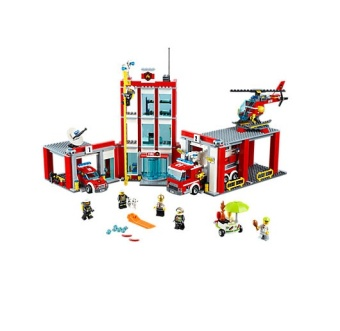 Harga LEGO 60110 City Fire Station