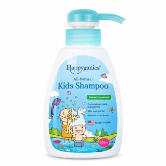 Harga Happyganics All-Natural Kids Shampoo (Natural Unscented) 270ml