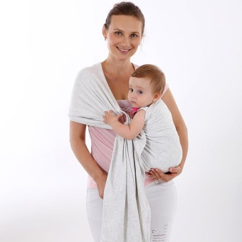 Harga Sling Baby Carrier -GREY - intl