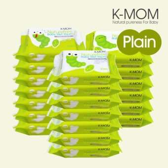 Harga K-Mom Organic Portable Wipes (30s x 20)
