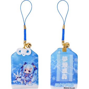 Harga Shamoe Hatsune future 2017 snow early tone snow Miku anime good luck pray Yu Shou ornaments pendant