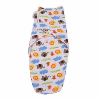 Harga little tots Infant Swaddleme Cotton Knit