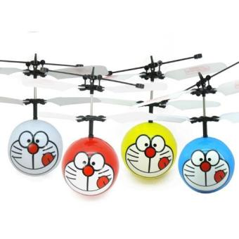 Harga Doreamon Remote Control IR Sensor Mini Helicopter