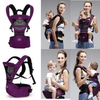 Harga Multifunctional Fashion Breathable Baby Sling Backpack - intl