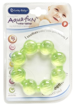 Lucky Baby® 606018 Aqua-Fun™ Water Teether - Beads Ring