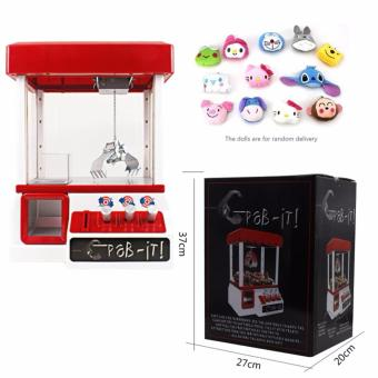 Harga ★NEXT DAY SHIPPING★Mini UFO Claw Catcher/ Candy Grabber/ Board Games /Arcade Game /Children Kids Toys /Gift /Soft Toy