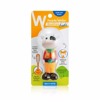 Harga Pearlie White BrushCare Kids Toothbrush - Cow