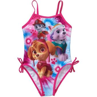 Harga One Piece Swimsuit Girls Cartoon Kids Children Swimwear Swimming Baby Girl Bikini Swim Clothing Toddler Bathing Suit - intl