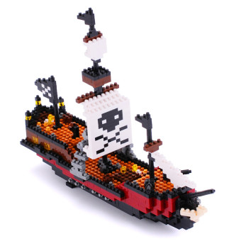 Harga Pirate Ship Model Building Blocks