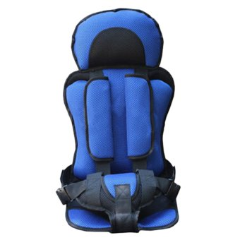 Harga Trendy New Soft Safety Kids Car Seat For Child Baby Portable Carrier Seat (blue)