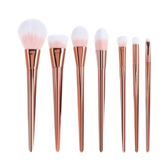Harga 7Pcs Set Professional real Brush High Techniques Brushes set - intl