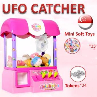 Harga Lighting Pink UFO Catcher / Arcade Games / Toy / Kids and Children / Family Game / Soft Toy Catch