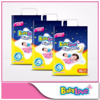 BabyLove Night Pants Jumbo Pack XL 38pcs x 3 packs
