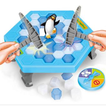 Harga Puzzle table games penguin ice pounding penguin ice cubes save penguin knock ice block wall toys desktop paternity interactive game - intl