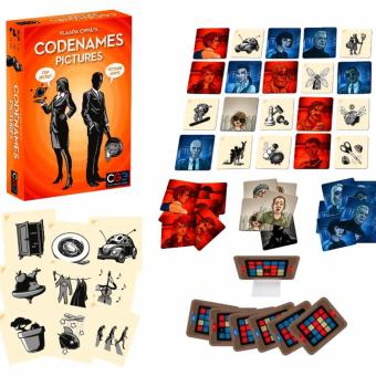 Harga CodeNames: Pictures Card Game Board Games