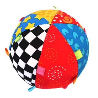Harga Ball Bell Children Toys Baby Hand Grasp Ball Cloth Music Sense Learning