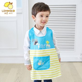 Harga Kids Waterproof Art Craft Apron Smock For Painting - intl