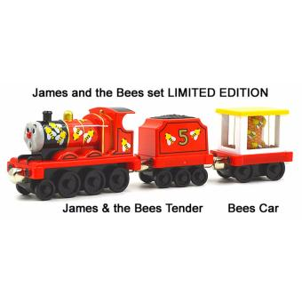 Harga Mattel Thomas & Friends Diecast - JAMES & BEE TENDER - Take and Play