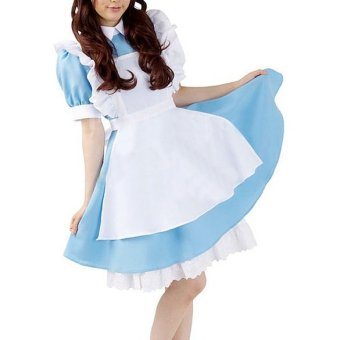 Harga Halloween Maid Costume Alice In Wonderland Maids Outfit Fancy Dress Cosplay