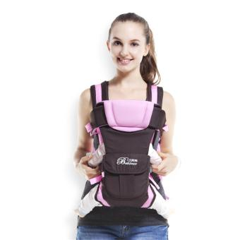 Harga Baby Carrier for Newborn Infant Toddler Child 4 in 1 Backpack Front Facing Kangaroo Sling Positions Lightweight Ergonomic Flexible Design Carriers - intl