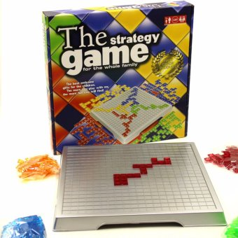 Harga The Strategy Game Blokus Gladiatus 4 Players Strategy Chess Board Game Family Friends Part Fun Games - intl