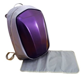Harga Simple Dimple Shield Bag XL - Gamma (Purple)