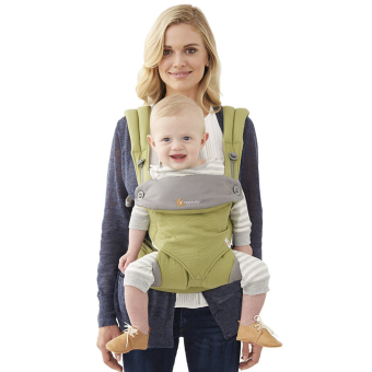 Harga Manufacturers ergo-baby back with four style 360 baby baby sling cotton multifunction baby carrier air section(Green)