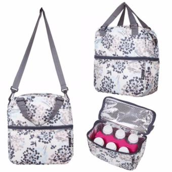Harga Breast pump / Breast milk / Food storage Posh Cooler bags (Henna Grey) * Breastmilk storage bag bottle use