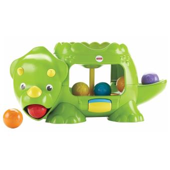 Fisher Price Double Poppin Dino(Multicolor)
