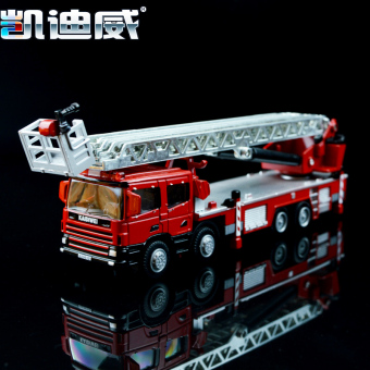Harga Kaidi wei 620012 alloy engineering truck model fire truck ladder truck model ambulance police fire simulation