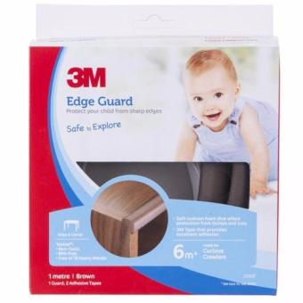 Harga 3M™ Child Safety - Edge Guard Brown - 1M Size