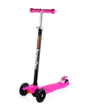Harga CMAX Height Adjustable Kids Scooter with Flashing LED Wheels (Pink)