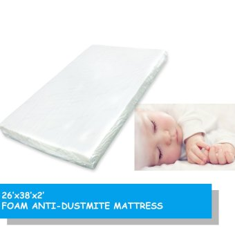 "Harga BabyDream Foam Antidustmite Mattress for Playpen (26x38x2""inch / 66x96x5cm)"