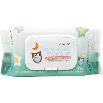 Harga K-Mom Organic Premium Wipes with Lid 100s