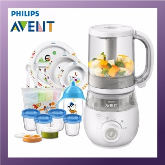 Harga Philips Avent 4 in 1 Healthy Food Maker Basic Bundle