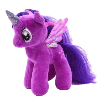 "Harga 5pcs*7"" My Little Pony Horse Figures Stuffed Plush Doll Toy GiftTwilight Sparkle (New) - Intl"