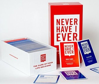 Harga Never Have I Ever The Adult Party Card Game of Poor Life Decisions NEW Free Ship - intl