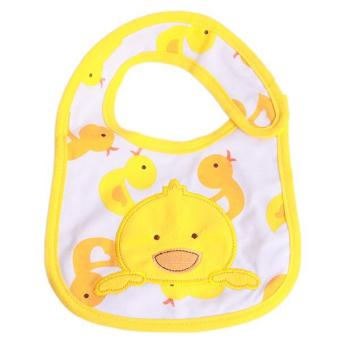 Harga LALANG Baby Bibs Newborn Duck Waterproof Saliva Towel Apron Yellow