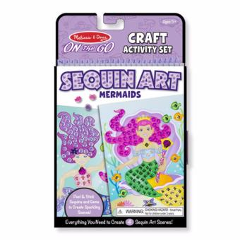 Harga Melissa & Doug On-the-Go Crafts - Sequin Art - MermaidsOn-the-Go Crafts - Sequin Art - MermaidsOn-the-Go Crafts - Sequin Art - Mermaids