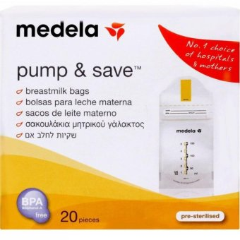 Harga Medela Pump And Save Milk Bag