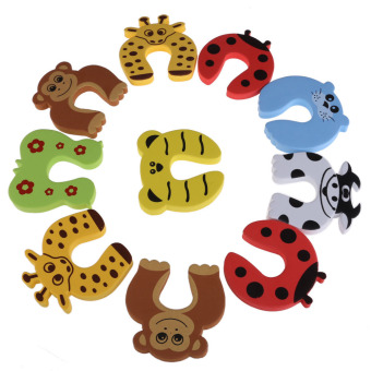 Harga Child Safety Cartoon Door Card Baby Door Stopper Clip Security