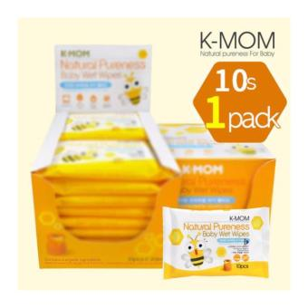 Harga K-Mom Organic Basic Pocket Wipes 10s