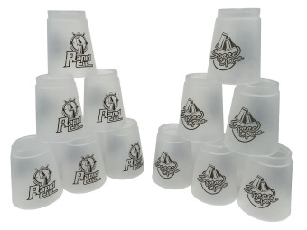 Harga 12 Pics Rapid Cup Speed Stack Gray - Intl