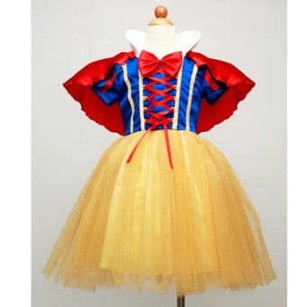 Harga Girls' cute Santa Claus Snow White performance wear Christmas cosplay dress - intl